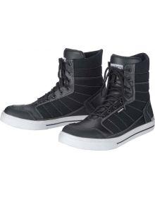 Cortech Vice Waterproof Shoe Black/White