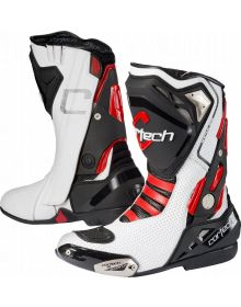Cortech Impulse Air Boots White/Red
