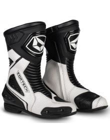 Cortech Apex RR Air Boots White