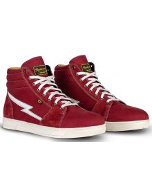 Cortech Slayer Canvas Riding Shoes Maroon