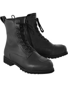 Oxford Merton Boots Black