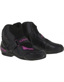 Alpinestars Stella S-MX 1R Vented Womens Boots Black/Gold