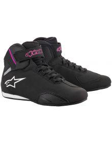 Alpinestars Stella Sektor Womens Shoe Black/Fuchsia
