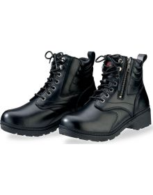 Z1R Maxim Water Proof Leather Boots Womens Black