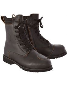 Oxford Magdalen Womens Boots Brown