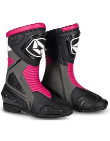 Cortech Apex RR Air Womens Boots Rubine