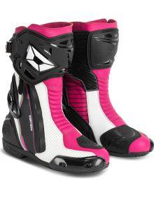 Cortech Adrenaline GP Womens Boot Rubine