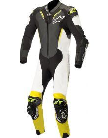 Alpinestars Atem V3 One-Piece Suit Black/White/Yellow Fluo