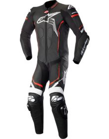 Alpinestars GP Plus V2 One-Piece Suit Black/White/Red Fluo