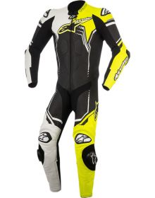 Alpinestars GP Plus V2 One-Piece Suit Black/White/Yellow Fluo