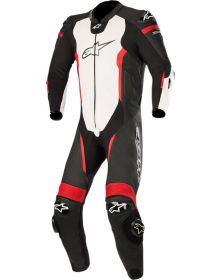 Alpinestars Missile One-Piece Suit Black/White/Red Fluo