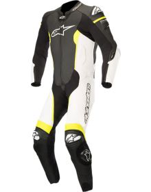 Alpinestars Missile One-Piece Suit Black/White/Yellow Fluo