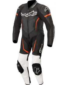 Alpinestars GP Plus Cup Youth One-Piece Suit Black/White/Red Fluo