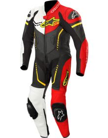 Alpinestars GP Plus Cup Youth One-Piece Suit Black/White/Red Fluo/Yellow Fluo