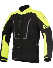 Alpinestars Vence Jacket Black/Yellow Fluo