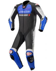 Alpinestars Missile Ignition Race Suit Black/Electric Blue/White