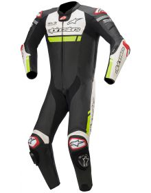Alpinestars Missile Ignition Race Suit Black/White/Fluorecent Yellow