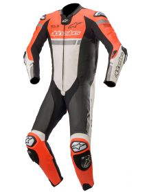 Alpinestars Missile Ignition Race Suit Fluorecent Red/White/Black