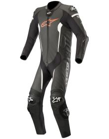 Alpinestars Missile Race Suit Black/Fluorecent Red/White