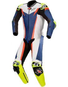 Alpinestars GP Tech One-Piece Suit Blue/White/Red