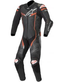 Alpinestars GP Pro V2 One-Piece Suit Black/Camo/Fluo Red