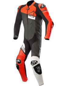 Alpinestars GP Plus Venom One-Piece Suit Black/Fluo Red/White