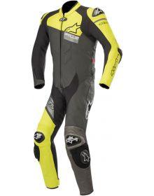 Alpinestars GP Plus Venom One-Piece Suit Black/Fluo Yellow/Gray