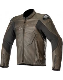 Alpinestars Caliber Leather Jacket Brown