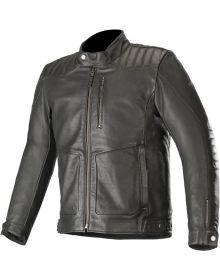 Alpinestars Crazy Eight Leather Jacket Black