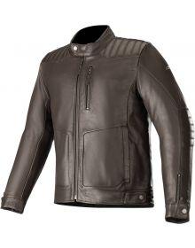 Alpinestars Crazy Eight Leather Jacket Tobacco Brown