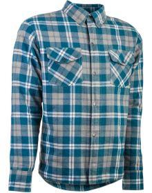 Highway 21 Marksman Flannel Jacket Grey/Blue