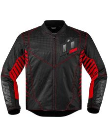 Icon Wireform Jacket Red