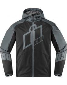 Icon Merc Crusader Jacket Grey