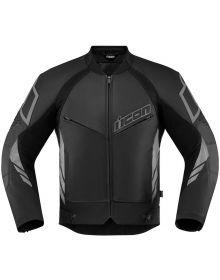 Icon Hypersport2  Leather Jacket Black
