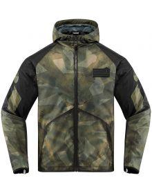 Icon Merc Battlescar Jacket Green