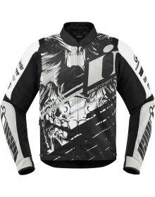 Icon Overlord Stim  Jacket White