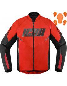 Icon Hooligan Jacket Red