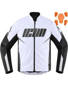 Icon Hooligan Jacket White