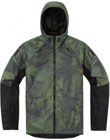Icon Airform Battlescar Jacket Green