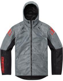 Icon Airform Battlescar Jacket Gray
