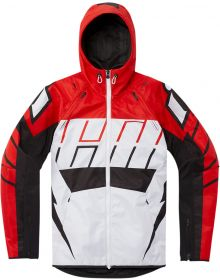 Icon Airform Retro Jacket Red