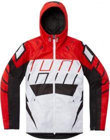 Icon Airform Retro Jacket Red