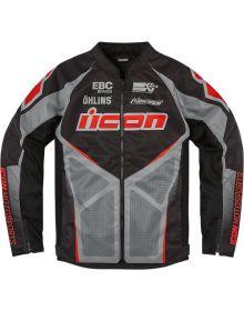 Icon Hooligan Ultrabolt Jacket Black