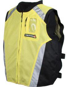 Joe Rocket Military Spec Mesh Vest Perf Yellow/Black