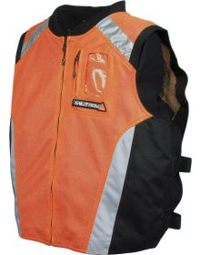 Joe Rocket MIlitary Spec Mesh Vest Perf Orange/Black