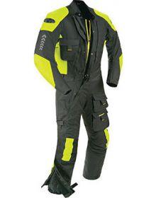 Joe Rocket Survivor Suit Black/Hi-Viz Yellow