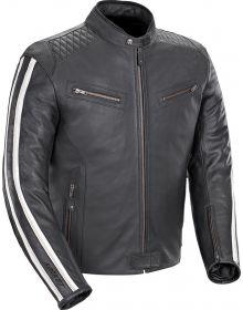 Joe Rocket Vintage Rocket Leather Jacket Black/White
