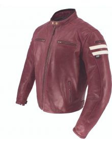 Joe Rocket Classic 92 Jacket Oxblood/Cream