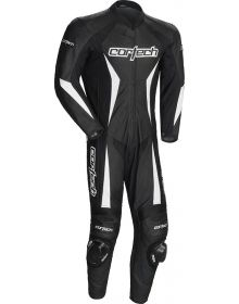 Cortech Latigo 2.0 One Piece Leather Suit Black