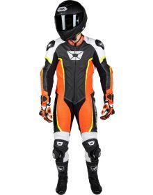 Cortech Adrenaline 1 Piece Suit Flo Red/Hi-Vis